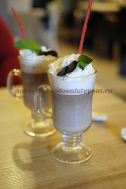 молочно - шоколадный напиток