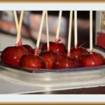 Яблоки в карамели — вкус детства