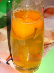 компота из яблок и абрикосов
