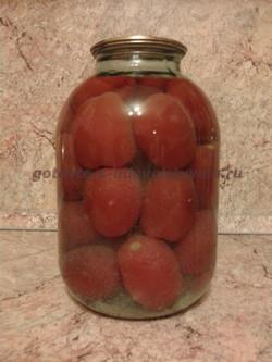 пикантные помидоры на зиму