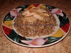 гречневая каша с курицей