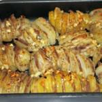 Картошка-гармошка в духовке