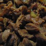 Жареные желудочки - как приготовить вкусно