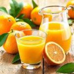Цитрусовый сок, 5 разнообразных рецептов