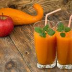 Тыквенный сок, несколько рецептов