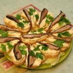 Бутерброды со шпротами, 6 рецептов