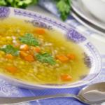 Гороховый суп для детей, подборка рецептов