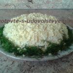 Салат «Мимоза» с рисом, несколько вариантов