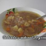 Гречневый суп для детей