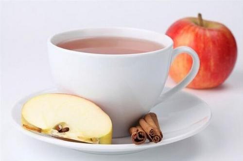 Чай с яблоком